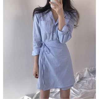 Wrap Front Shirt Dress from Epoch
