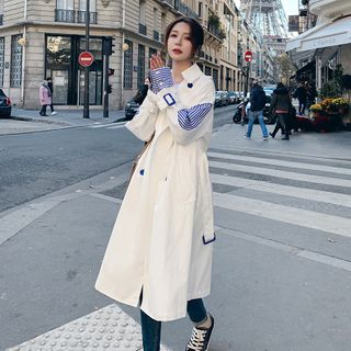 Double Breasted Trench Coat from Estacion