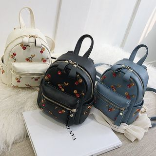 Cherry Embroidered Backpack from FAYLE
