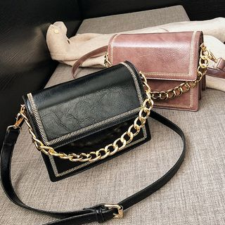 Faux Leather Crossbody Bag from FAYLE