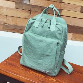 Plain Canvas Backpack from FAYLE