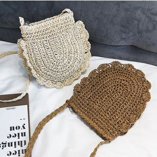 Straw Crossbody Bag from FAYLE