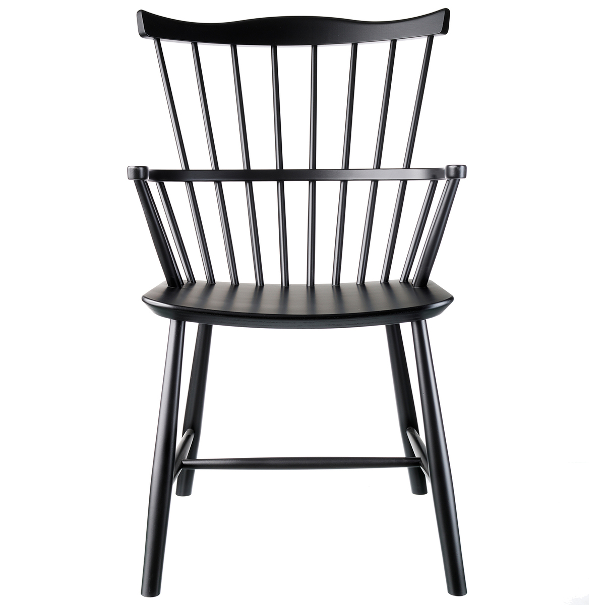 FDB Møbler J52B chair, black from FDB Møbler