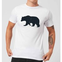 Florent Bodart Bear Men's T-Shirt - White - S - White from FLORENT BODART