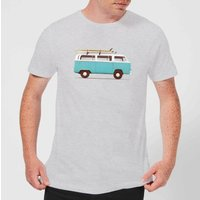 Florent Bodart Blue Van Men's T-Shirt - Grey - L - Grey from FLORENT BODART
