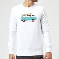 Florent Bodart Blue Van Sweatshirt - White - L - White from FLORENT BODART