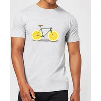 Florent Bodart Citrus Lemon Men's T-Shirt - Grey - XXL - Grey from FLORENT BODART