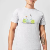 Florent Bodart Citrus Lime Men's T-Shirt - Grey - XL - Grey from FLORENT BODART