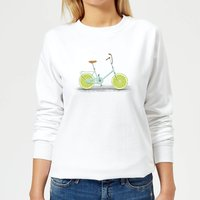 Florent Bodart Citrus Lime Women's Sweatshirt - White - XXL - White from FLORENT BODART