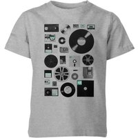 Florent Bodart Data Kids' T-Shirt - Grey - 11-12 Years - Grey from FLORENT BODART