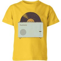 Florent Bodart High Fidelity Kids' T-Shirt - Yellow - 7-8 Years - Yellow from FLORENT BODART