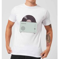 Florent Bodart High Fidelity Men's T-Shirt - White - XL - White from FLORENT BODART
