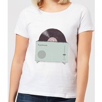 Florent Bodart High Fidelity Women's T-Shirt - White - L - White from FLORENT BODART