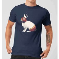 Florent Bodart Lapin Catcheur Men's T-Shirt - Navy - M - Navy from FLORENT BODART