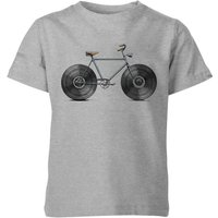 Florent Bodart Velophone Kids' T-Shirt - Grey - 11-12 Years - Grey from FLORENT BODART