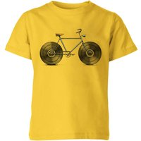 Florent Bodart Velophone Kids' T-Shirt - Yellow - 11-12 Years - Yellow from FLORENT BODART