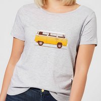 Florent Bodart Yellow Van Women's T-Shirt - Grey - S - Grey from FLORENT BODART
