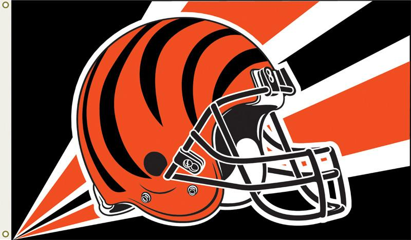 Cincinnati Bengals 3 Ft. X 5 Ft. Flag W/Grommetts from FREMONT DIE, Inc.
