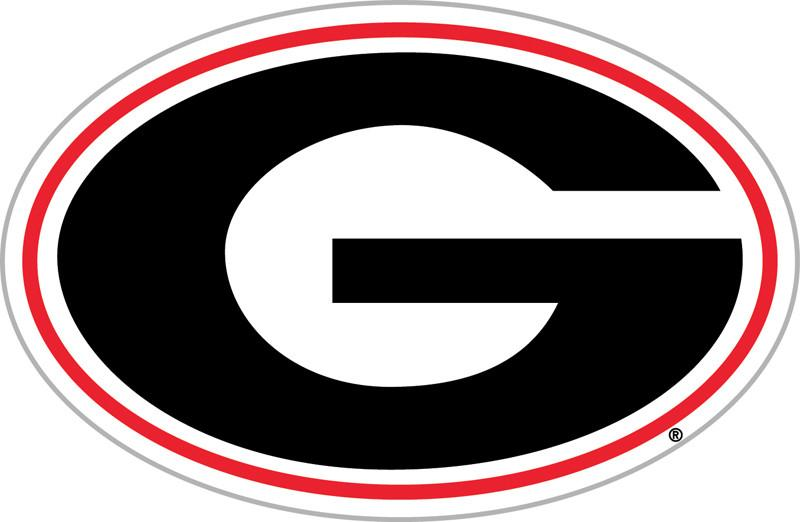 "Georgia Bulldogs 12"" Vinyl Magnet from FREMONT DIE, Inc."