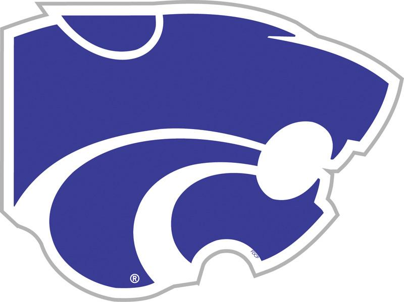 "Kansas State Wildcats  12"" Vinyl Magnet from FREMONT DIE, Inc."