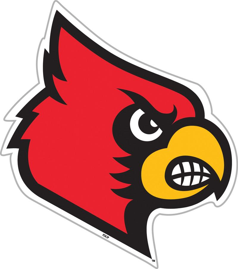 "Louisville Cardinals 12"" Vinyl Magnet from FREMONT DIE, Inc."