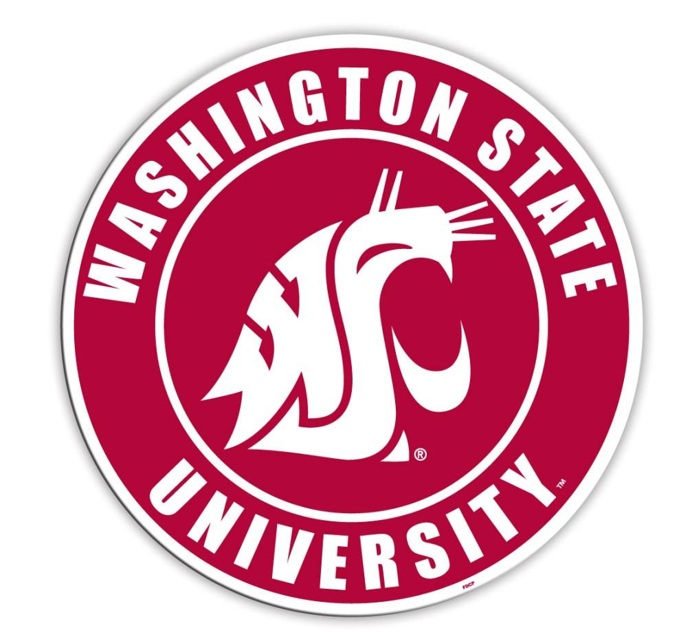 "Washington State Cougars 12"" Vinyl Magnet from FREMONT DIE, Inc."