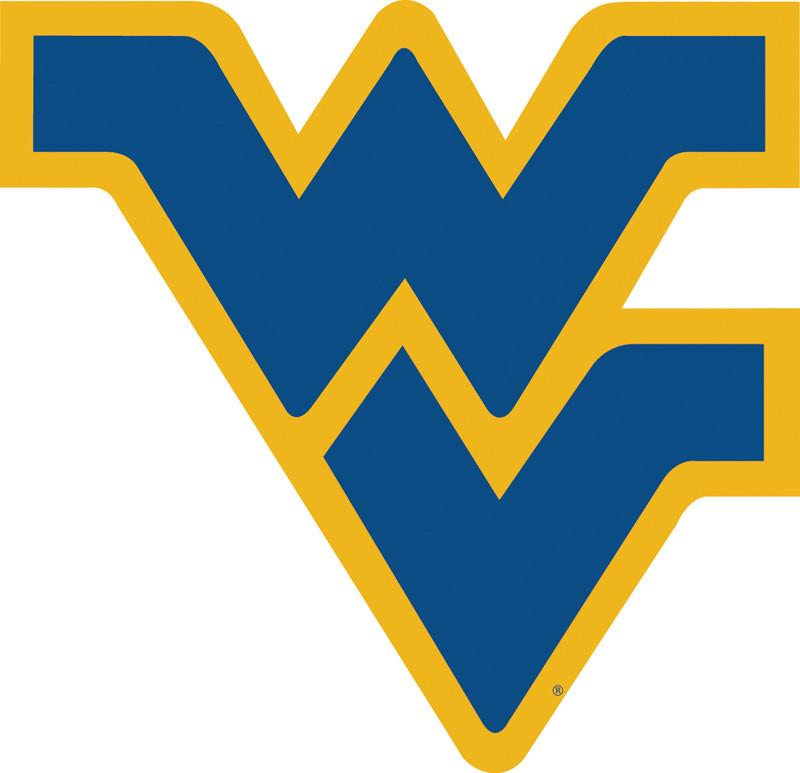 "West Virginia Mountaineers 12"" Vinyl Magnet from FREMONT DIE, Inc."