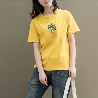 Short-Sleeve Printed T-Shirt from Fancy Show