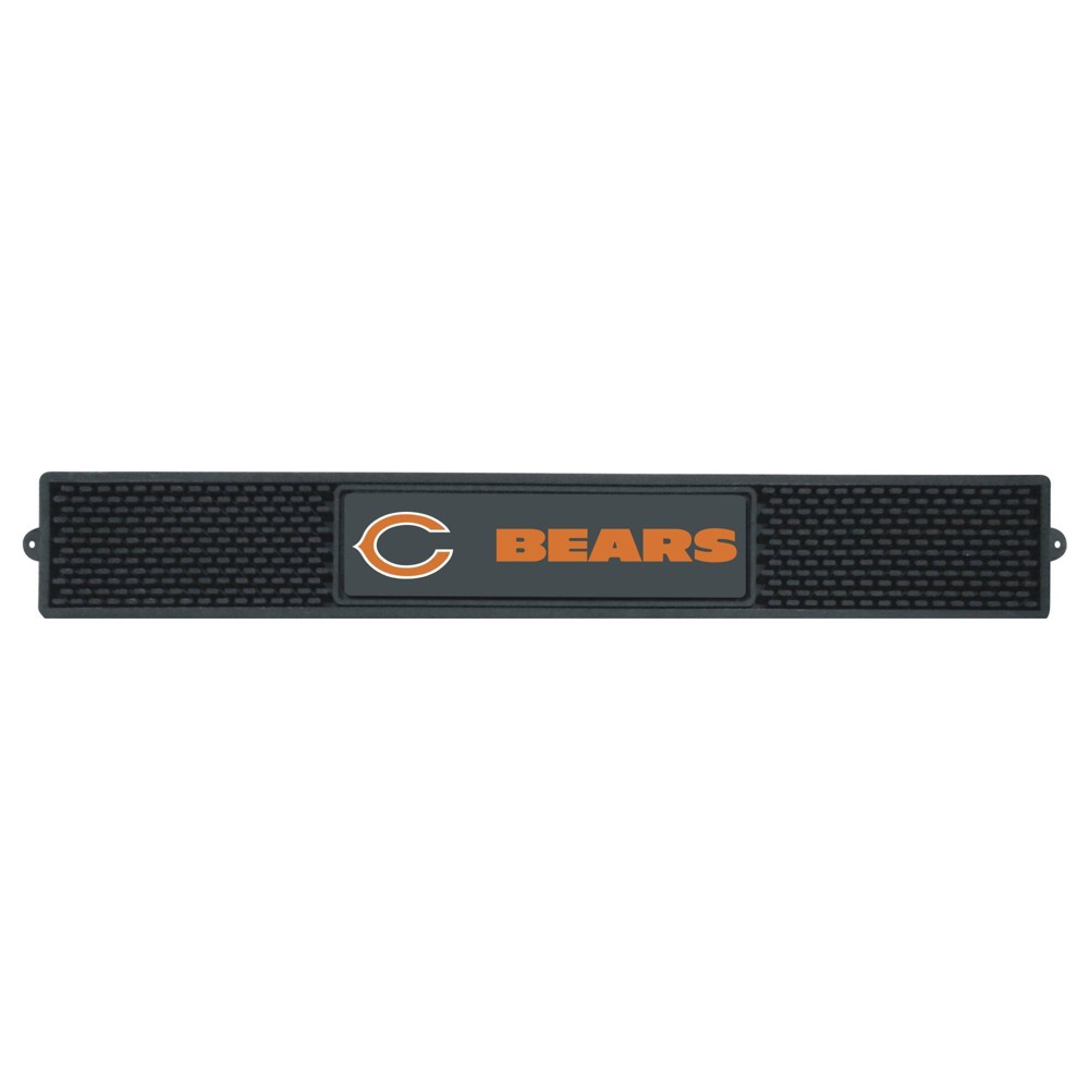 Chicago Bears Fanmats Drink Mat Black from Fanmats