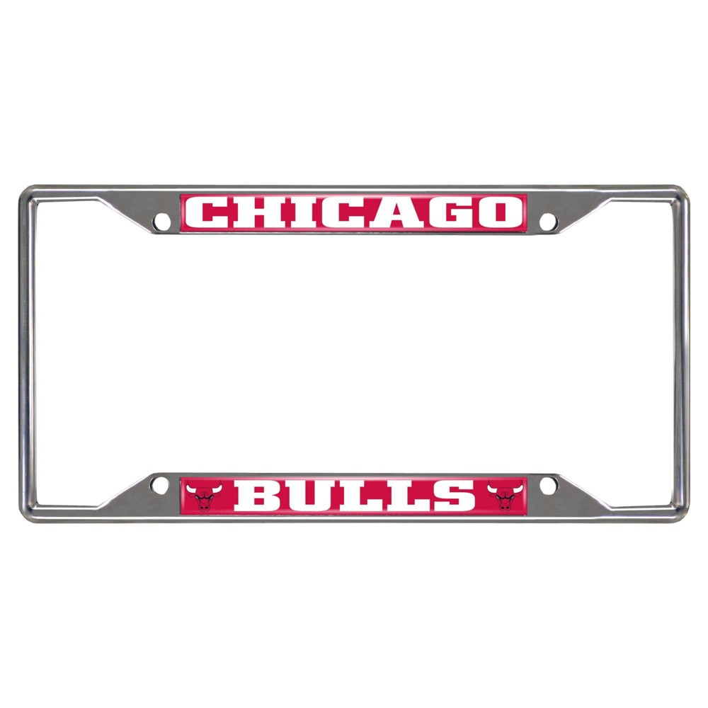 Chicago Bulls Fanmats License Plate Frame from Fanmats