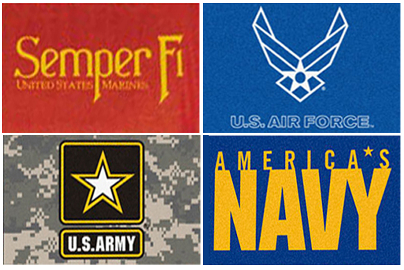 "Military All Star Area Mats (33.75"" x 42.5"") from Fanmats"