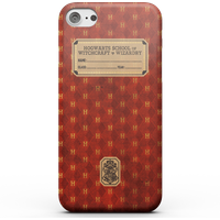 Harry Potter Gryffindor Text Book Phone Case for iPhone and Android - iPhone 6S - Tough Case - Matte from Harry Potter