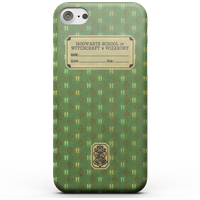 Harry Potter Slytherin Text Book Phone Case for iPhone and Android - iPhone 8 - Snap Case - Matte from Harry Potter