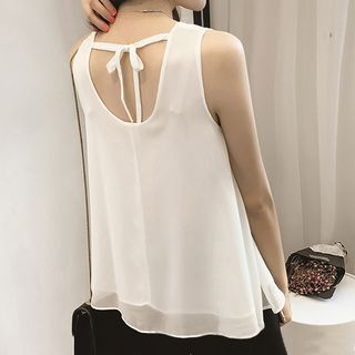 Chiffon Tank Top from Fashion Street