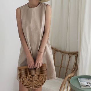 Crew-Neck Tank Dress from Fashion Street