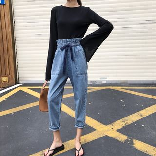 Crop Harem Jeans from Fashion Street