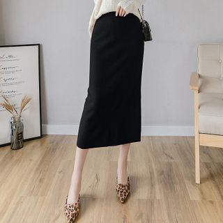 Knit Midi Skirt from Fashion Street