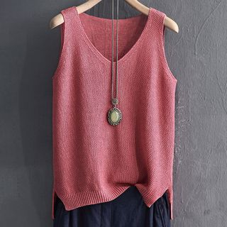 Knit Tank Top from Fashion Street