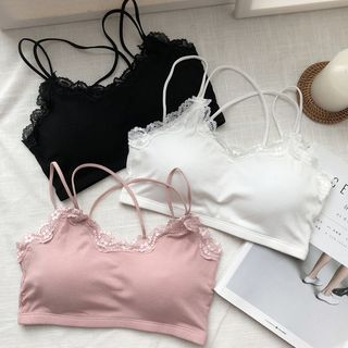Lace Trim Bra Top from Fashion Street