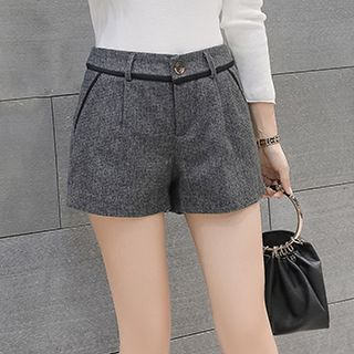Plain Shorts from Fashion Street