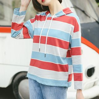 Striped Hoodie from Fashion Street