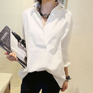 V-Neck Blouse from Fashion Street