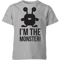 My Little Rascal I'm the Monster Kids' T-Shirt - Grey - 7-8 Years - Grey from My Little Rascal