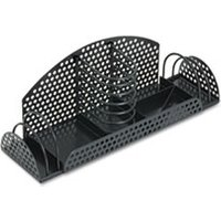 Perf-Ect Multi Desk Organizer, Metal/Wire, 12 7/8 x 4 x 4 3/4, Black from Fellowes