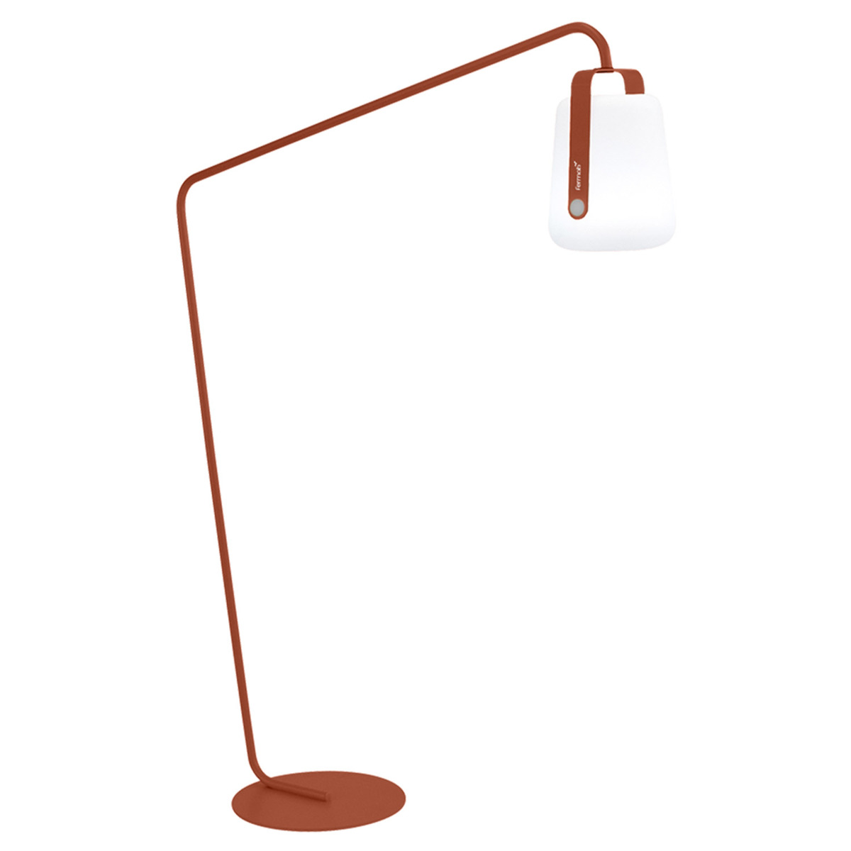 Fermob Balad lamp stand, offset, red ochre from Fermob