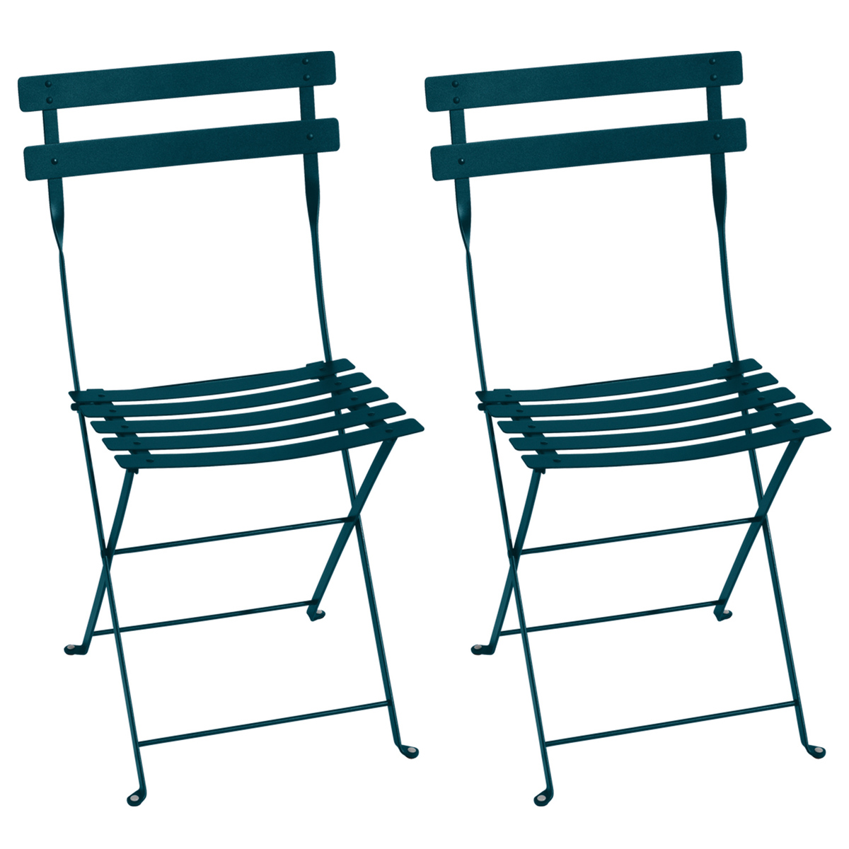 Fermob Bistro Metal chair, 2 pcs, acapulco blue from Fermob