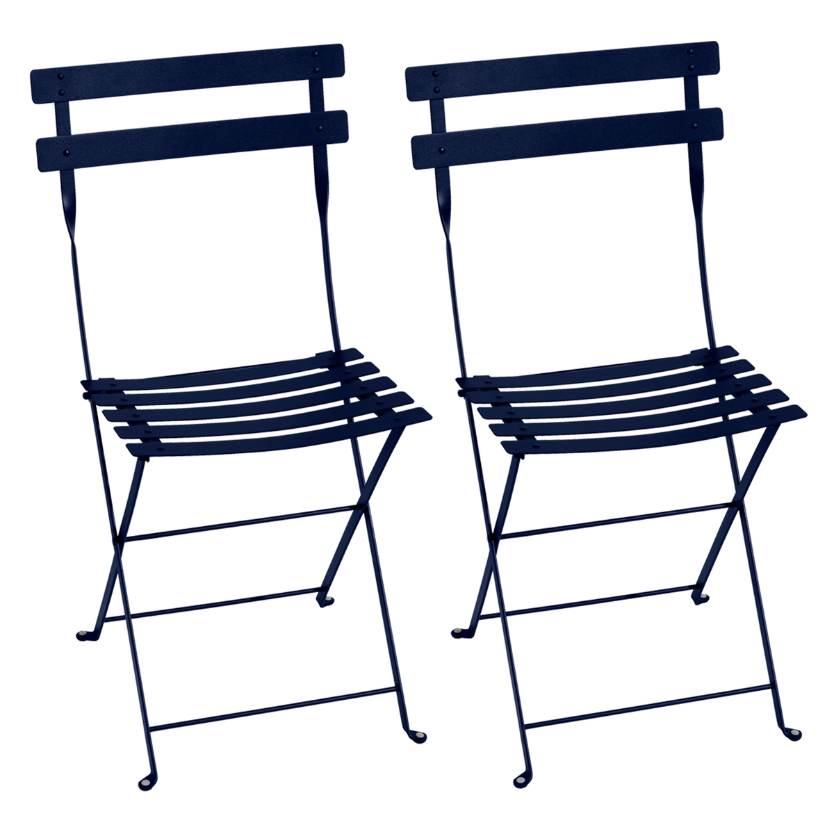 Fermob Bistro Metal chair, 2 pcs, deep blue from Fermob