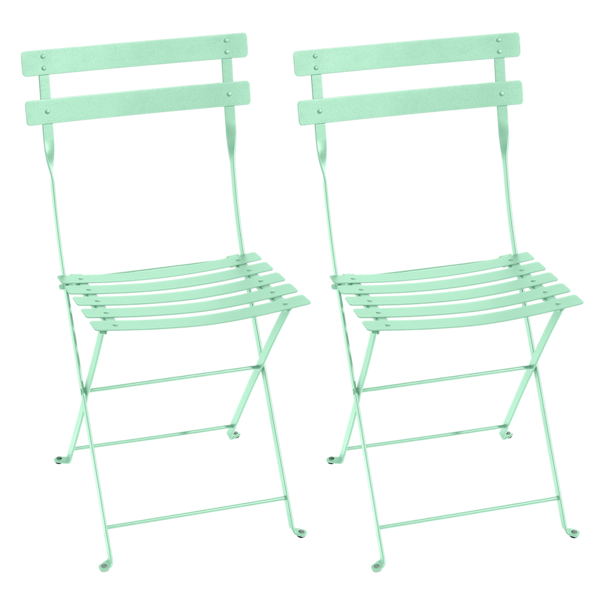 Fermob Bistro Metal chair, 2 pcs, opaline green from Fermob
