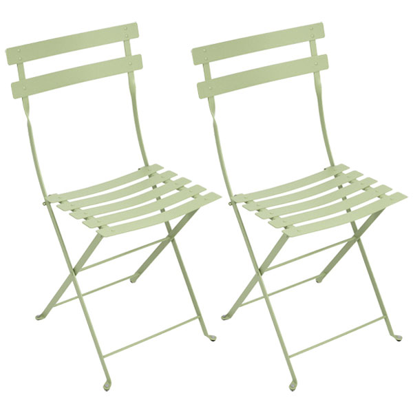 Fermob Bistro Metal chair, 2 pcs, willow green from Fermob