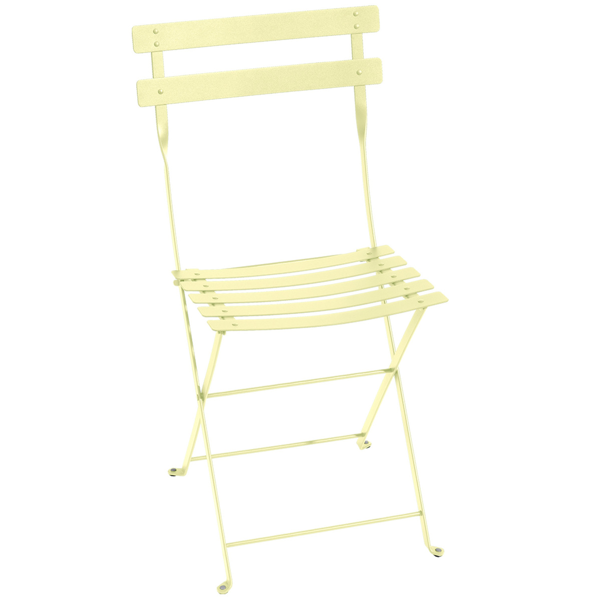 Fermob Bistro Metal chair, frosted lemon from Fermob